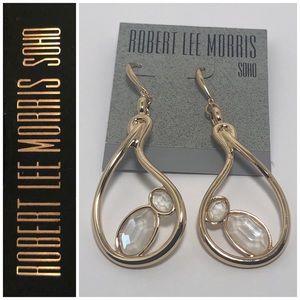 Robert Lee Morris GT Sculptural Drop Earrings